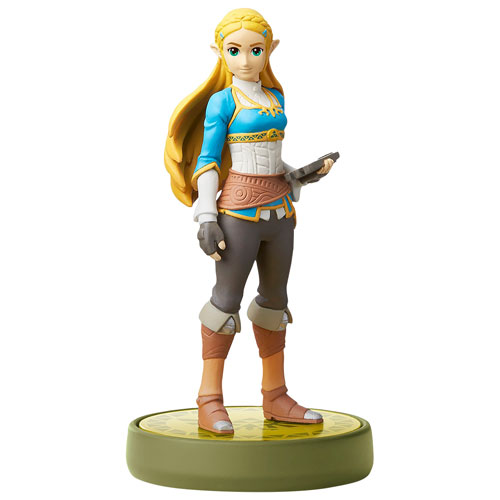 amiibo The Legend of Zelda: Breath of the Wild Zelda