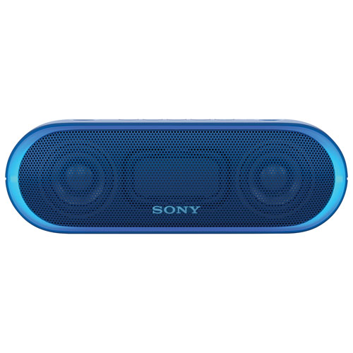 sony wireless speakers. sony extra bass water-resistant bluetooth wireless speaker (srs-xb20) - blue : portable speakers best buy canada