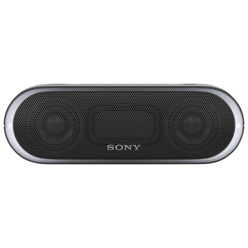 Sony EXTRA BASS Water-Resistant Bluetooth Wireless Speaker (SRS-XB20) - Black