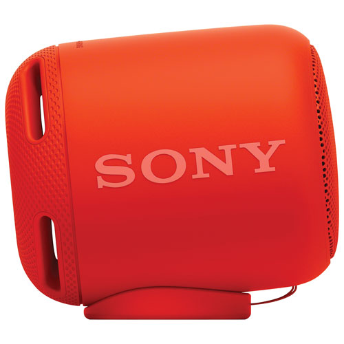 Sony EXTRA BASS Water-Resistant Bluetooth Wireless Speaker (SRS-XB10) - Red