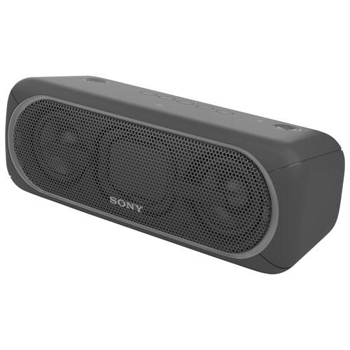 Haut-parleur Bluetooth sans fil résistant à l'eau EXTRA BASS de Sony (SRS-XB40) - Noir