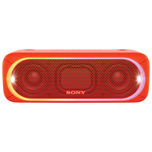 Sony EXTRA BASS Water-Resistant Bluetooth Wireless Speaker (SRS-XB30) - Red