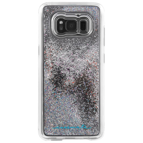 Étui souple ajusté Naked Tough Waterfall de Case-Mate pour Galaxy S8 Plus - Iridescent