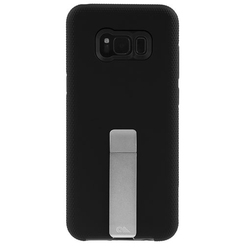 Case-Mate Tough Stand Fitted Soft Shell Case for Galaxy S8 Plus - Black