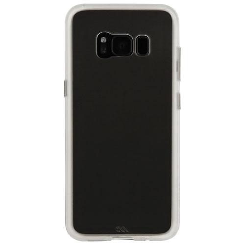 Étui souple ajusté Naked Tough de Case-Mate pour Galaxy S8 Plus - Transparent