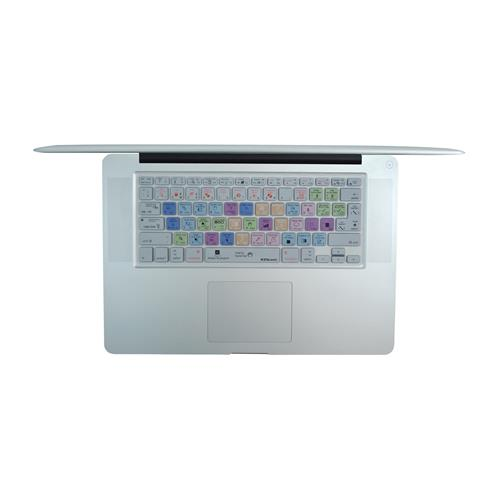 EZQuest X22401 Adobe Illustrator Color-Corded Shortcuts Keyboard Cover, English