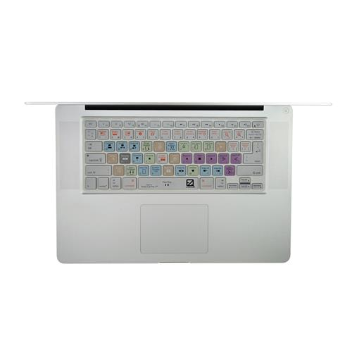 EZQuest X22402 Apple Final Cut Pro X Color-Coded Shortcuts Keyboard Cover, English
