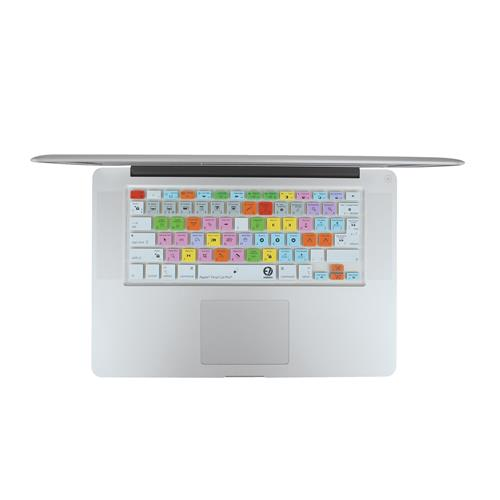 EZQuest X22403 Apple Final Cut Pro Color-Coded Shortcuts Keyboard Cover, English