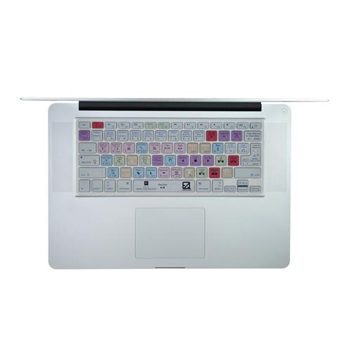 EZQuest X22404 Adobe Premiere Pro Color-Coded Shortcuts Keyboard Cover, English