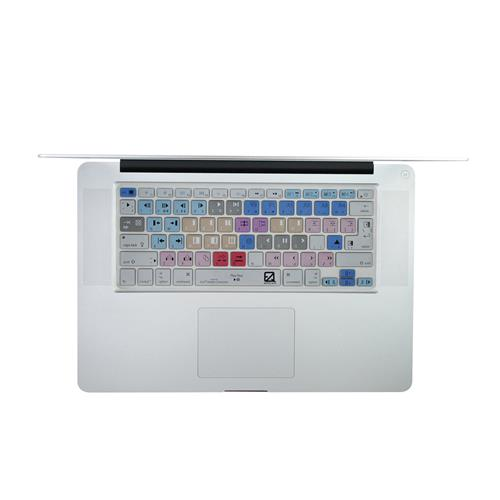 EZQuest X22405 Avid Media Composer Color-Coded Shortcuts Keyboard Cover, English