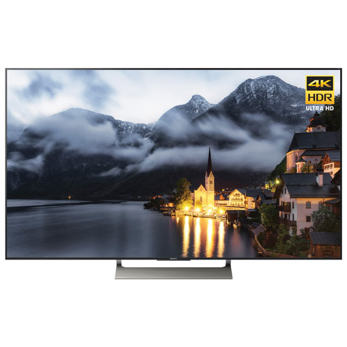 """Sony 55"""" 4K UHD HDR LED Android Smart TV (XBR55X900E) - Black"""