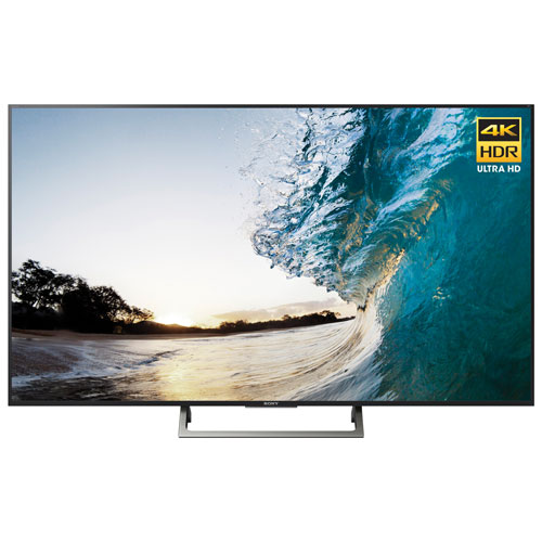 "Sony 75"" 4K UHD HDR LED Android Smart TV (XBR75X850E) - Black"