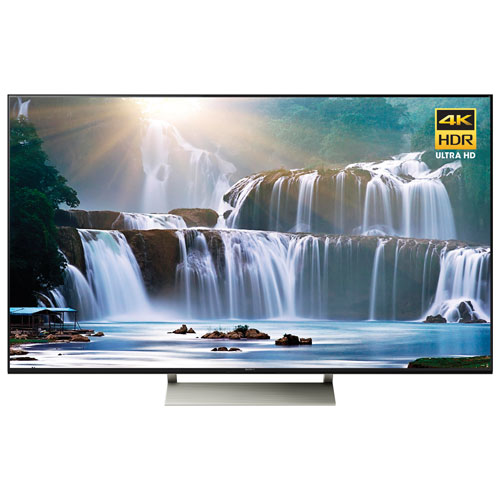 """Sony 65"""" 4K UHD HDR LED Android Smart TV (XBR65X930E) - Black"""