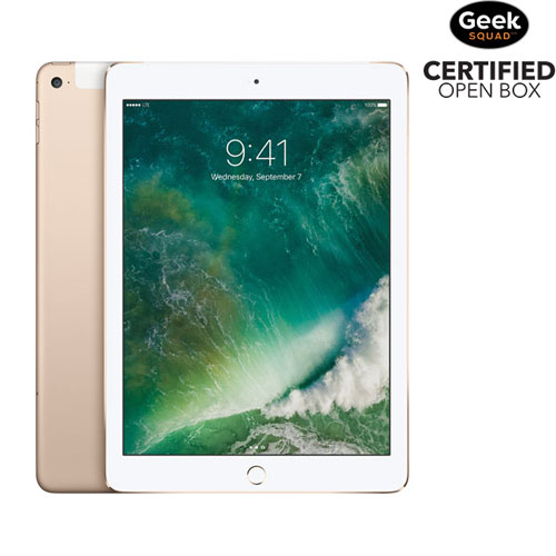 iPad Air 2 de 32 Go avec Wi-Fi + cellulaire d'Apple - Doré - Boîte ouverte