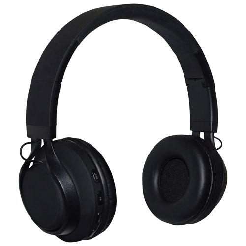 NüPower ROKS On-Ear Bluetooth Headphones (NU6015BTBK)