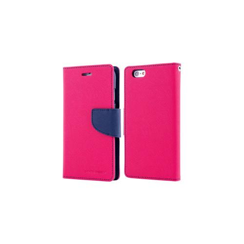 Mercury Goospery Fancy Diary - Galaxy S6 edge - HotPink/Navy