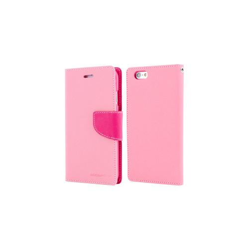 Mercury Goospery Fancy Diary - Galaxy S6 edge - Pink/Hot Pink