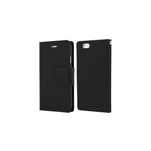 Yyz Mobile Folio Case for Samsung Galaxy S6 Edge - Black