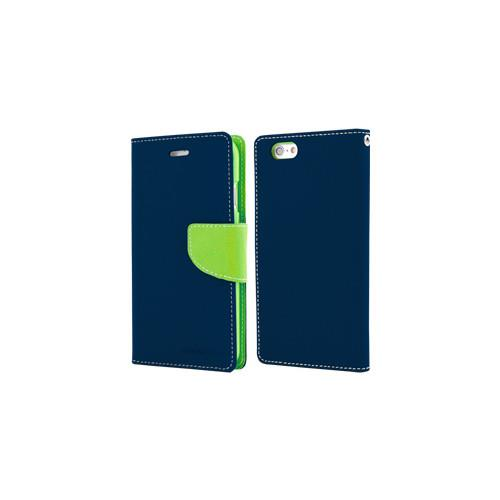 Mercury Goospery Fancy Diary - Galaxy S6 edge - Navy/Lime