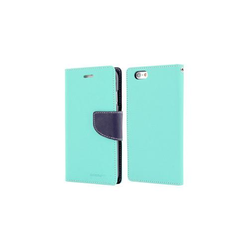 Mercury Goospery Fancy Diary - Galaxy S6 edge+ - Mint/Navy