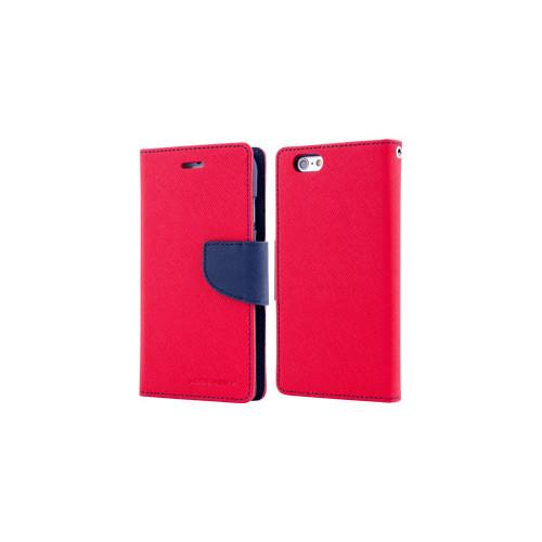 Mercury Goospery Fancy Diary - Galaxy S6 edge+ - Red/Navy