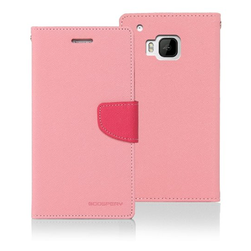 Yyz Mobile cover for HTC M9 - Hot Pink
