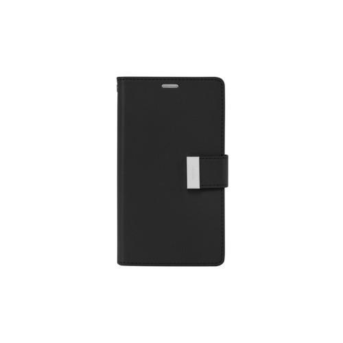 Mercury Goospery Rich Diary - Galaxy S6 - Black/Black