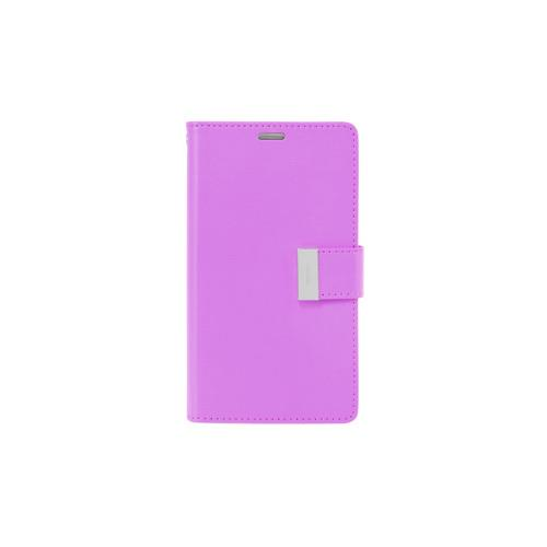 Mercury Goospery Rich Diary - Galaxy S6 edge+ - Purple/Navy