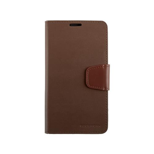 Mercury Goospery Sonata Diary - Galaxy S6 edge - Brown