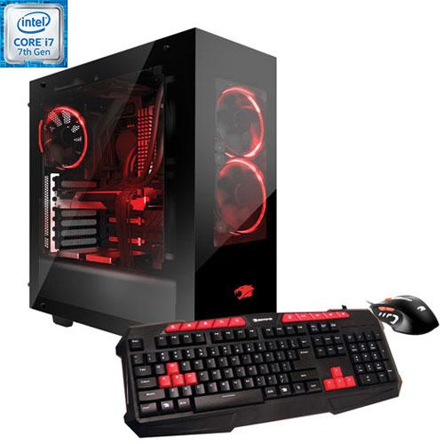 iBUYPOWER CA002I Gaming PC (Intel Core i7-7700/1TB HDD/120GB SSD/8GB RAM/NVIDIA GTX1070/Win 10) -Eng