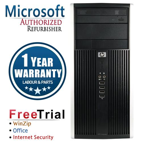 HP 6200 Tower Intel Core i3 2100-3.1 Ghz,4G DDR3,Storage:250 GB HDD,Windows 10 Professional,1 Year Warranty-Refurbished