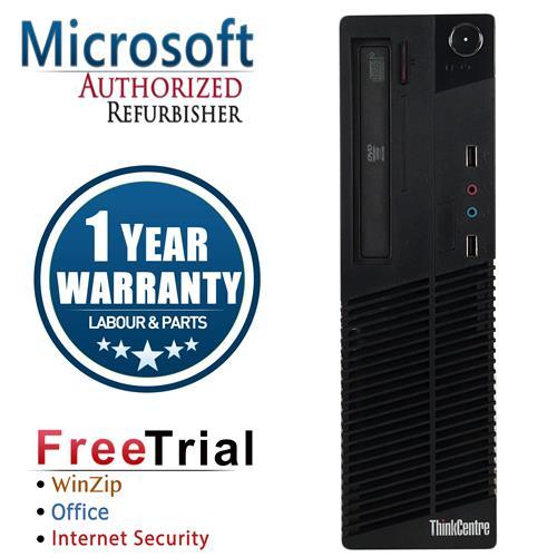 Lenovo M82 SFF Desktop Intel Core i5 3470 3.2 Ghz,8G DDR3, 240 GB SSD,Windows 10 Professional,1 Year Warranty-Refurbished