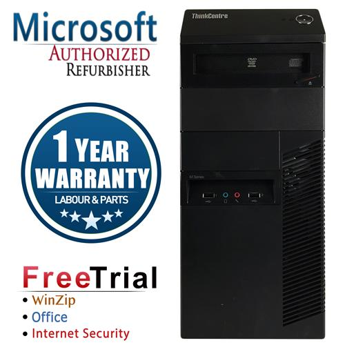 Lenovo M92P Tower Intel Core i5 3470 3.2 Ghz,8G DDR3,Storage:1 TB ,Windows 7 Professional 64-Bit,1 Year Warranty-Refurbished