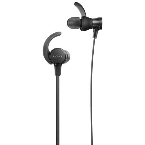 sony in ear headphones. sony in-ear sports headphones (mdrxb510as/b) - black in ear
