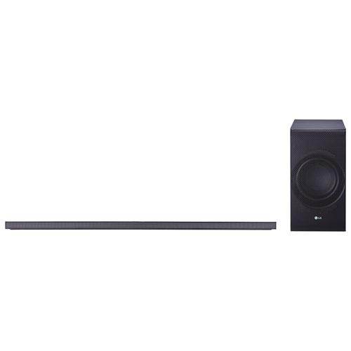 LG SJ8 300-Watt 4.1 Channel Sound Bar with Wireless Subwoofer