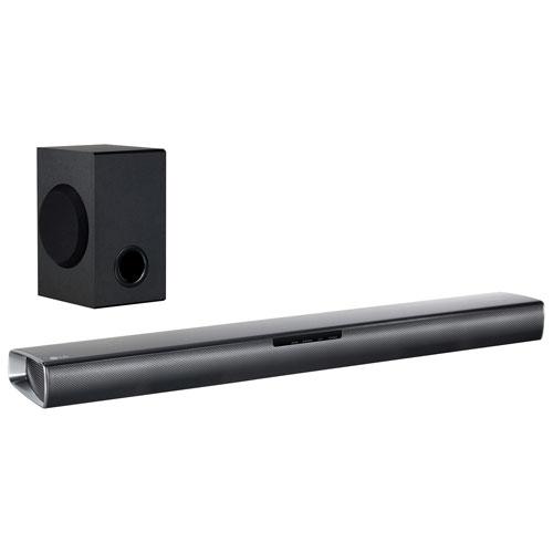 lg tv with soundbar. lg sj2 160-watt 2.1 channel sound bar with wireless subwoofer lg tv soundbar