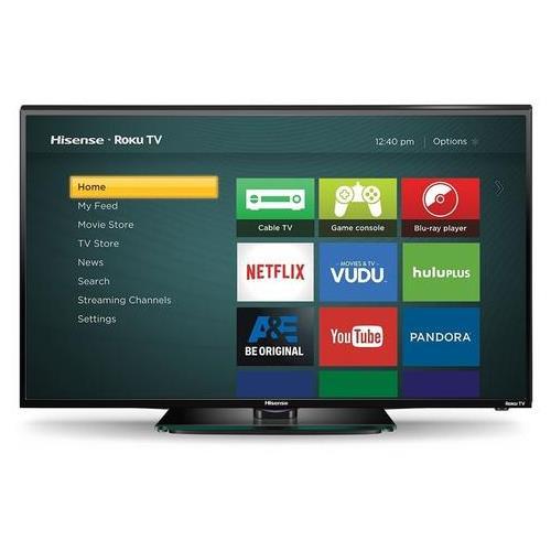 Hisense 40H4C 40-Inch 1080p Roku Smart LED TV- REFURBISHED