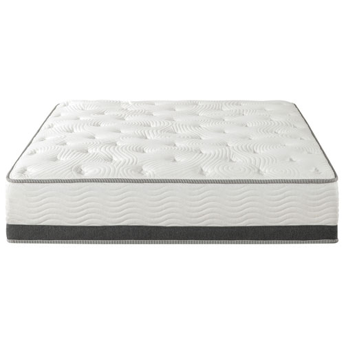 Zinus Pocket Coil Gel Memory Foam Hybrid Mattress King Mattresses Best Buy Canada