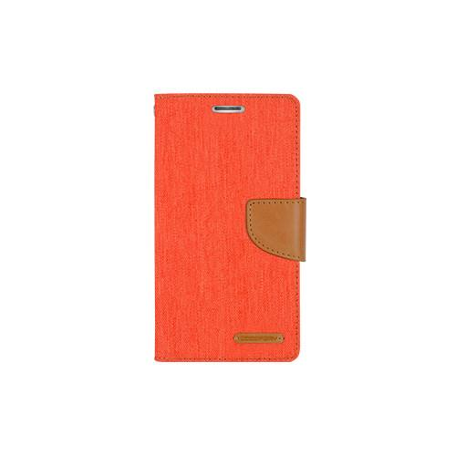 Yyz Mobile Folio Case for Samsung Galaxy S6 - Orange;Camel