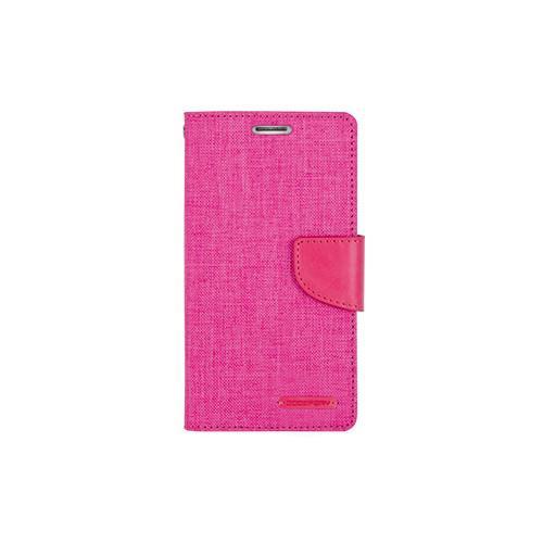 Mercury Goospery Canvas Diary - Galaxy S6 - Pink/Pink