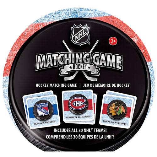 Jeu d'associations sur le thème du hockey de la LNH