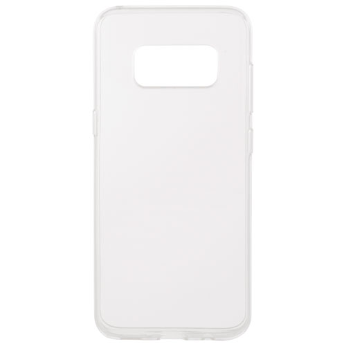 Insignia Samsung Galaxy S8 Fitted Soft Shell Case - Clear