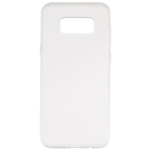 Insignia Samsung Galaxy S8 Plus Fitted Soft Shell Case - Clear