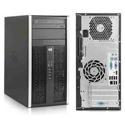 HP,6200 PRO, MT, I3 2100, 3.1 GHZ, DDR3, 8.0 GB, 2TB DVD, GB NIC Windows 10 Home Premium 3YR Warranty - Refurbished