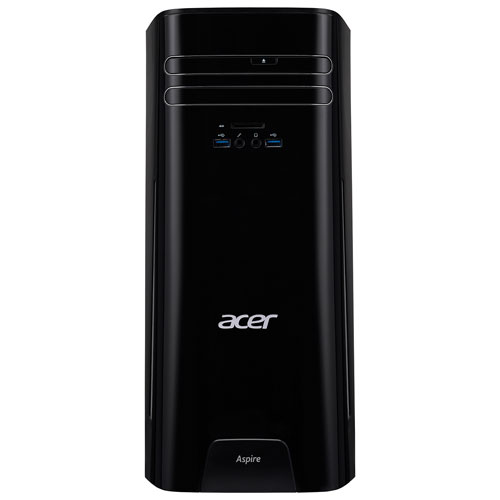 Ordinateur de bureau Aspire TC d'Acer (A10-7800 d'AMD/DD 1 To/RAM 12 Go/Radeon R7 d'AMD/Windows 10)