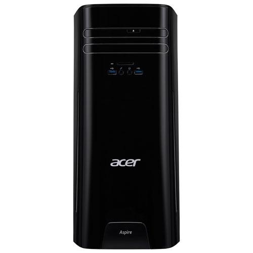 Acer Aspire TC Desktop PC (AMD A10-7800/1TB HDD/12GB RAM/AMD Radeon R7 Graphics/Windows 10)