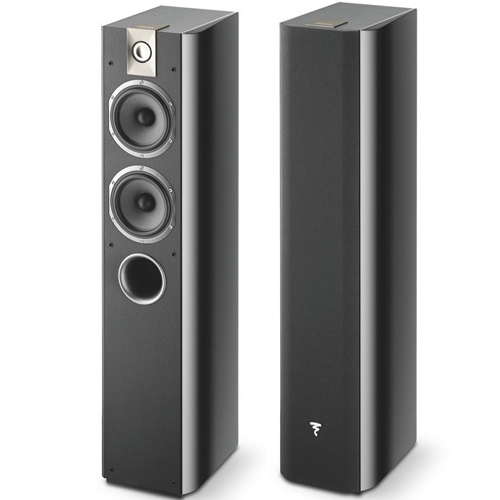 Focal Chorus 714 2-1/2 way bass reflex floor standing Loudspeaker - Black (Pair)