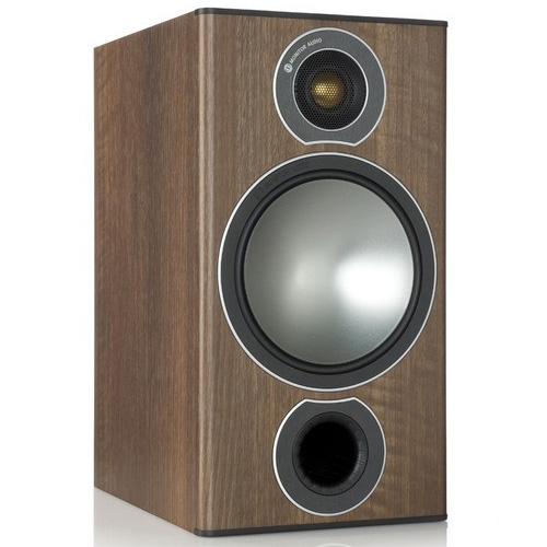 Monitor Audio Bronze 2 Bookshelf Speakers - Walnut (Pair)