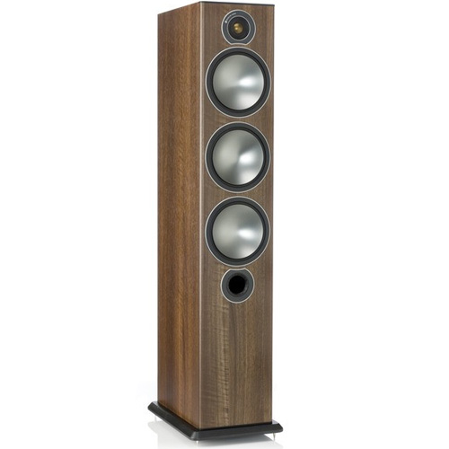 Monitor Audio Bronze 6 Floor Standing Speakers - Walnut (Pair)
