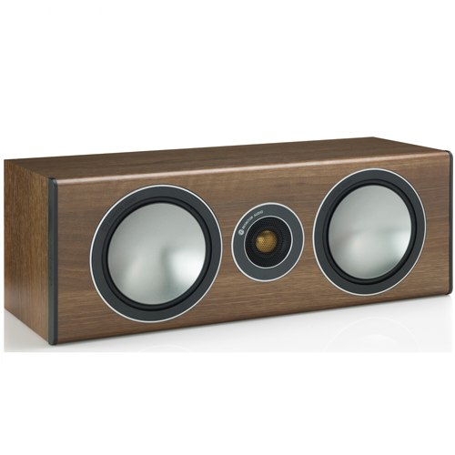 Monitor Audio Bronze Center Speaker - Walnut (Each)